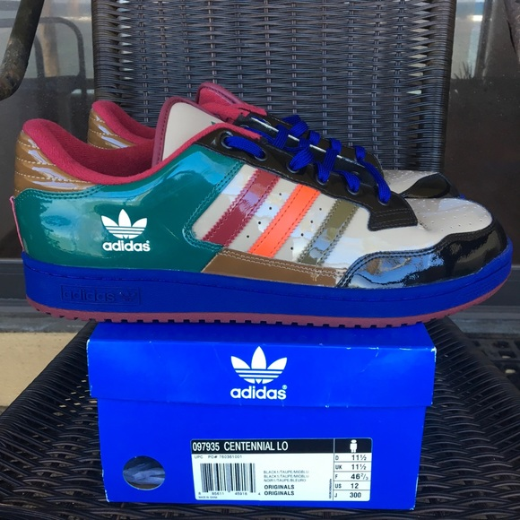 newest 626f5 697b1 adidas Other - Adidas Originals Centennial Lo Multi-Color Shoes